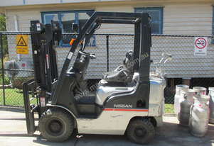 Nissan 1.5 ton Container entry Used Forklift