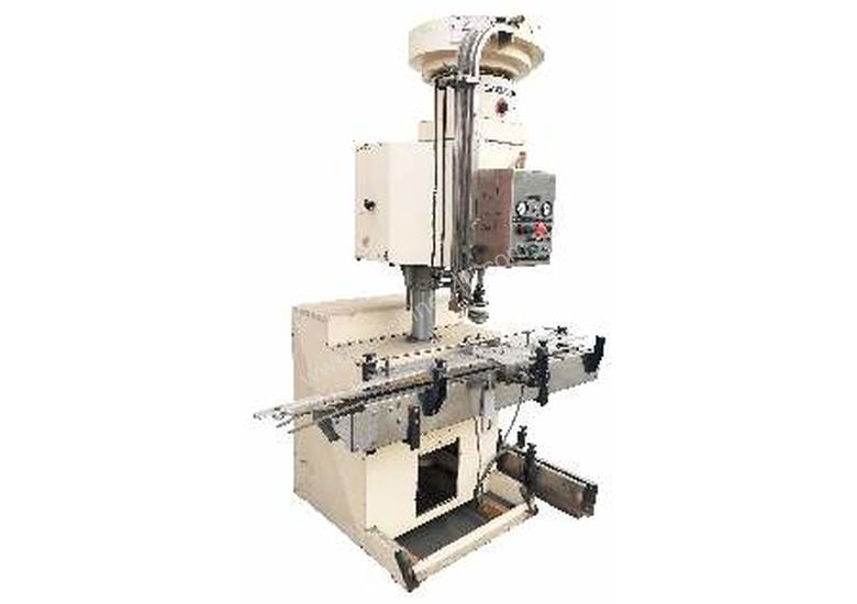 Single Head Automatic Screw Capper (with bowl feeder)