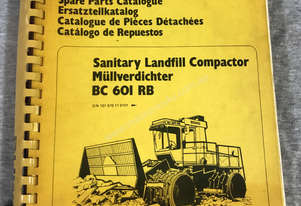 Bomag BC601RB Spare Parts Manual