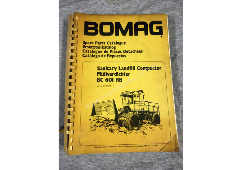 bomag 601 rb service manual daily instruction manual guides u2022 rh testingwordpress co BOMAG Recycler BOMAG Puente Hills