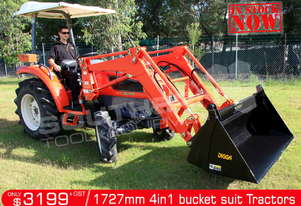 1727 mm 4 in 1 Bucket suit Tractor Front End Loader ATT4IN1