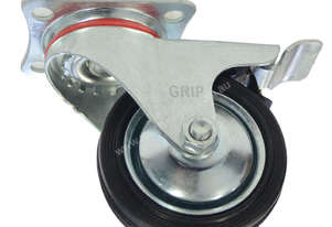 43025 - RUBBER MOULD STEEL CORE CASTOR(SWIVEL/BRAKE)