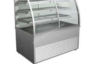 Cossiga D4HT12 Dimension Curved Heated Cabinet