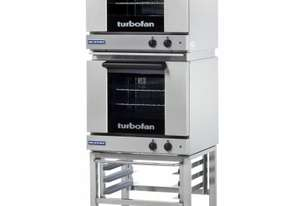 Turbofan E23M3/2C - Half Size Tray Manual Electric Convection Ovens Double Stacked With Castor Base