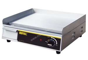 Apuro Stainless Steel Griddle AUS Plug