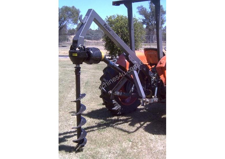 2018 FARMTECH FPD75 PD LINKAGE POST HOLE DIGGER + HYDRAULIC DOWNFORCE