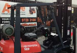Toyota Forklift 7FG18 1.8 Ton 4.5m Lift Refurbished
