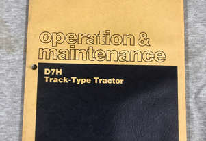 CAT Operation & Maintenance Manual D7H