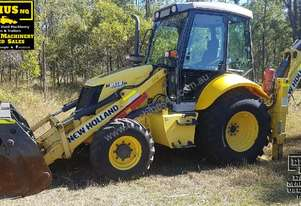 New Holland LB110B Backhoe, 4500hrs, Call EMUS