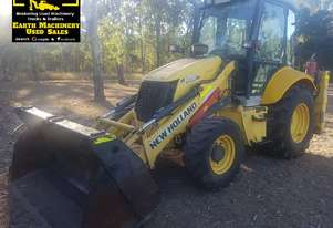 2010 New Holland LB110B Backhoe, 4500hrs.  MS396
