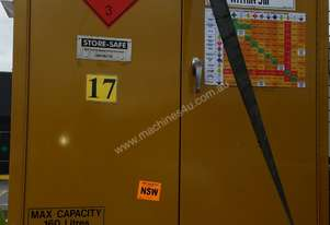 Flammable storage cabinate 160L