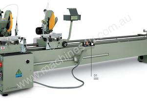 NORMA VIS - Aluminium Double Saw - Digital Readout