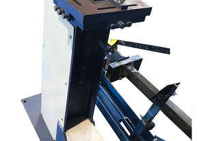 Sheet Metal Corner Notcher Capacity 1.5mm Metal x 80mm Pneumatic Operation