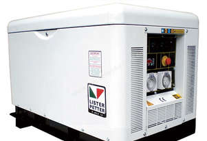 10kVA, Single Phase, Standby Diesel Generator with Lister Petter Engine in Canopy