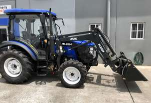 60HP 4WD CAB TRACTOR WITH 4 IN 1 LOADER