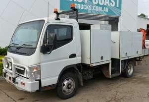 2008 MITSUBISHI CANTER 7/800 Service Vehicle Crane Truck