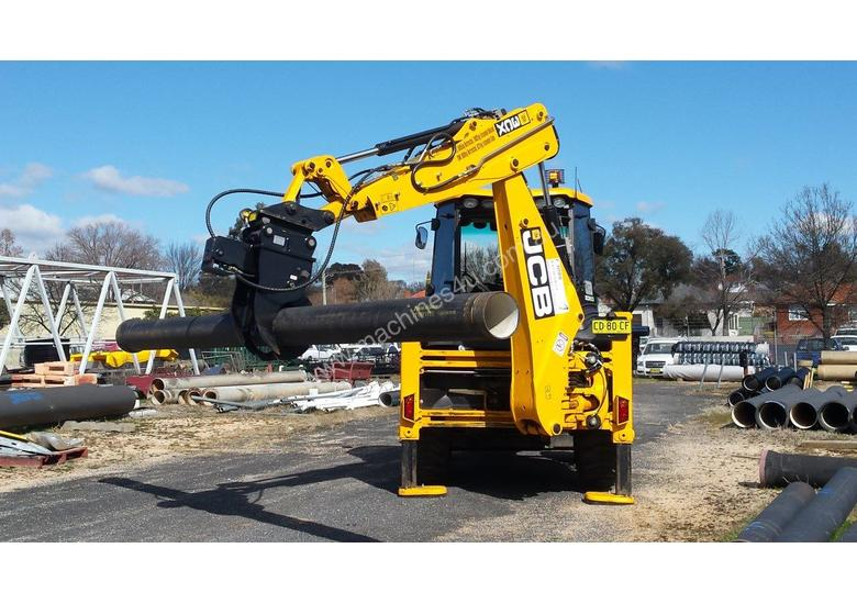 Pipe Grapples for Excavators and Backhoes