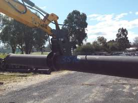 Pipe Grapples for Excavators and Backhoes - picture2' - Click to enlarge