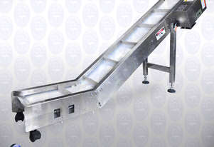 Flamingo Cleated Take-off Conveyor for Sachet Machine (TAKEOFF-CONVEYOR-220)