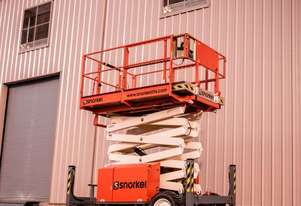 SNORKEL S2770RT ROUGH TERRAIN SCISSOR LIFT
