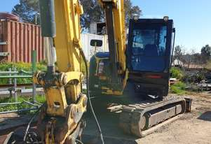 2016 YANMAR VIO80 EXCAVATOR WITH LOW 2125 HOURS, TILT MUD AND 2 X DIG BUCKETS