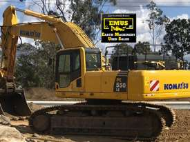 2014 Komatsu PC550LC, excellent cond, low hrs.  MS578 - picture0' - Click to enlarge