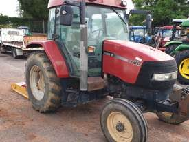 Case CX80 cab tractor & slasher - picture0' - Click to enlarge