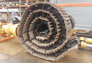 Sumitomo SH350-6 Track Group 45 Link  600mm Grouser Plate