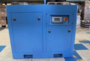 ROTARY SCREW AIR COMPRESSOR 37KW 50HP 120PSI 214CFM DIRECT DRIVEN