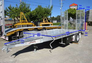 Interstate trailers Single Axle Tag Trailer Custom 9 Ton ATTTAG