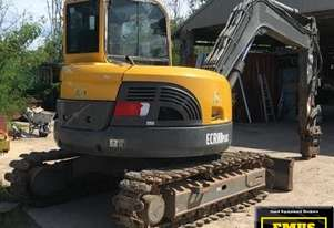 2013 Volvo ECR88 Plus, heaps of attachments. E.M.U.S. MS630