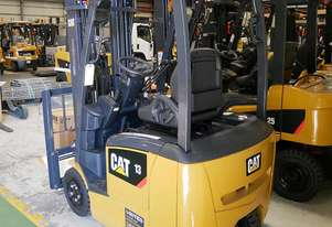 CAT 1.3T 3-Wheel Electric Forklift EP13TCB