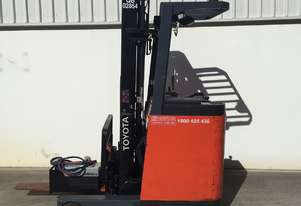 Toyota 1.5 Ton Electric Reach Truck in good condition
