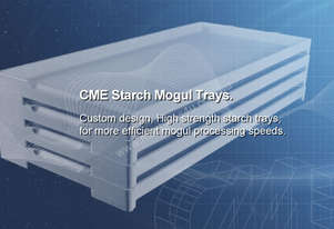 Trays -Starch Mogul Trays- Catering Equipment
