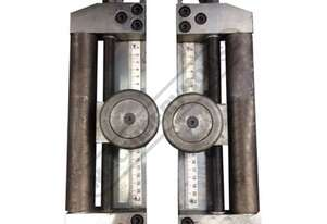 PK35F-GUIDE Angle Iron Lateral Side Guide Roll Support Set Maximum Angle Iron Capacity - 50 x 50 x 6