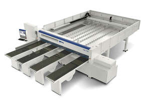 CMS Helix 130h automatic beam saws for plastic materials processing