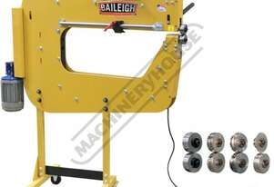 BR-16E-36LT Bead Roller - Motorised Package Deal 1.6mm Mild Steel Thickness Capacity Includes 1/4
