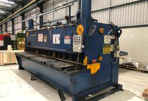Used Kleen Hydraulic Over Driven Guillotine 13mm x 4000mm