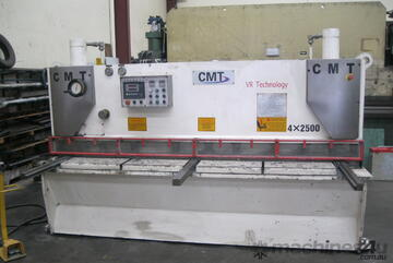 CMT 2500mm x 4mm Variable Rake Hydraulic Guillotine