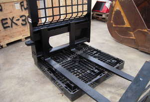 Pallet Forks 1500kg - to suit Skidsteer Loader