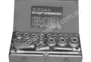 TOOLTEC Combination Socket Set Imperial Set 26Pce