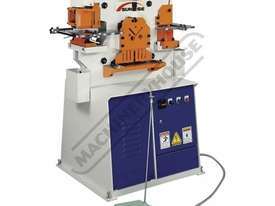 IW-45K Hydraulic Punch & Shear 45 Tonne Includes Auto Touch & Cut Systems & 6 Sets of Round Punches  - picture0' - Click to enlarge