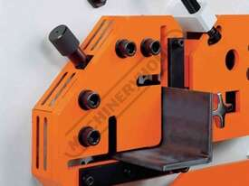 IW-45K Hydraulic Punch & Shear 45 Tonne Includes Auto Touch & Cut Systems & 6 Sets of Round Punches  - picture6' - Click to enlarge