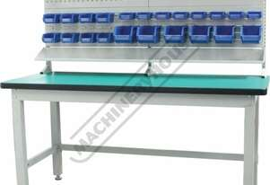 IWB-40P2 Industrial Work Bench Package Deal 1800 x 750 x 1725mm 1000kg Table Top Load Capacity
