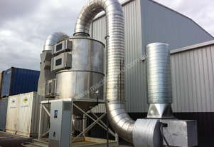 Dust Extraction Scrubber Filter Units