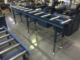360MM X 3000MM ROLLER CONVEYOR & 3 LEG KIT - picture1' - Click to enlarge