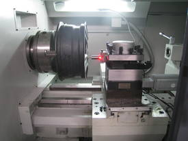 Brand New 2018 CNC 6166A LATHE FOR ALU WHEEL REPAIR - picture2' - Click to enlarge