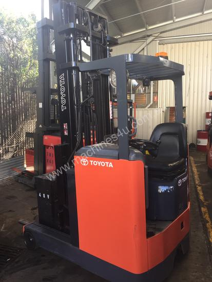 Used Toyota 6fbre16 High Reach Forklift In Fairfield Nsw