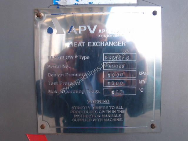 Plate Heat Exchanger.