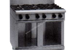 Waldorf 800 Series RN8600G-CB - 900mm Gas Cooktop `` Cabinet Base
